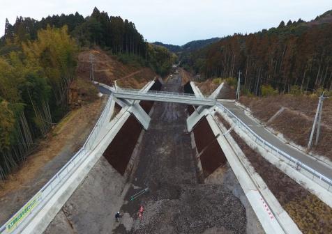 九州横断道(嘉島~山都)玉来地区改良8期工事