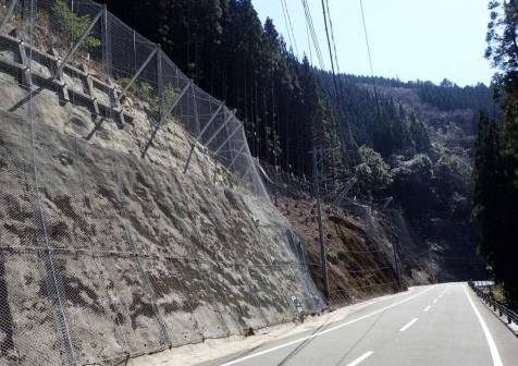国道445号防災・安全交付金(落石対策その3)工事