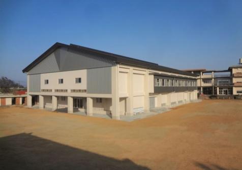 第六中学校体育館改築工事