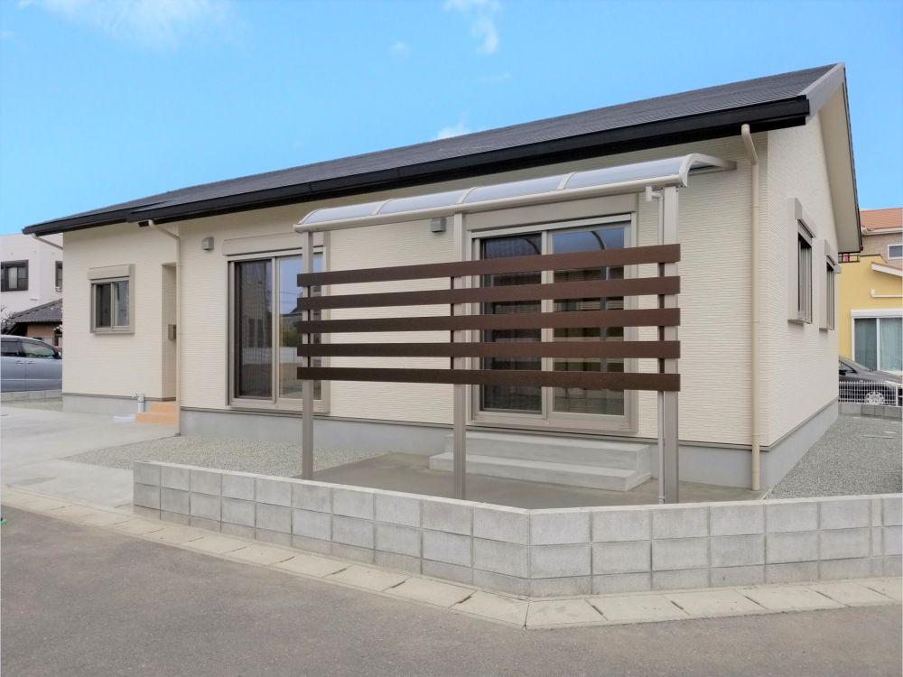 熊本県八代市の新築平屋住宅外観