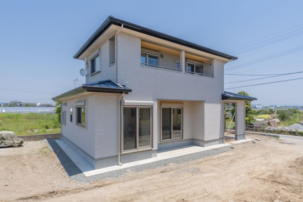 熊本県熊本市の新築住宅外観
