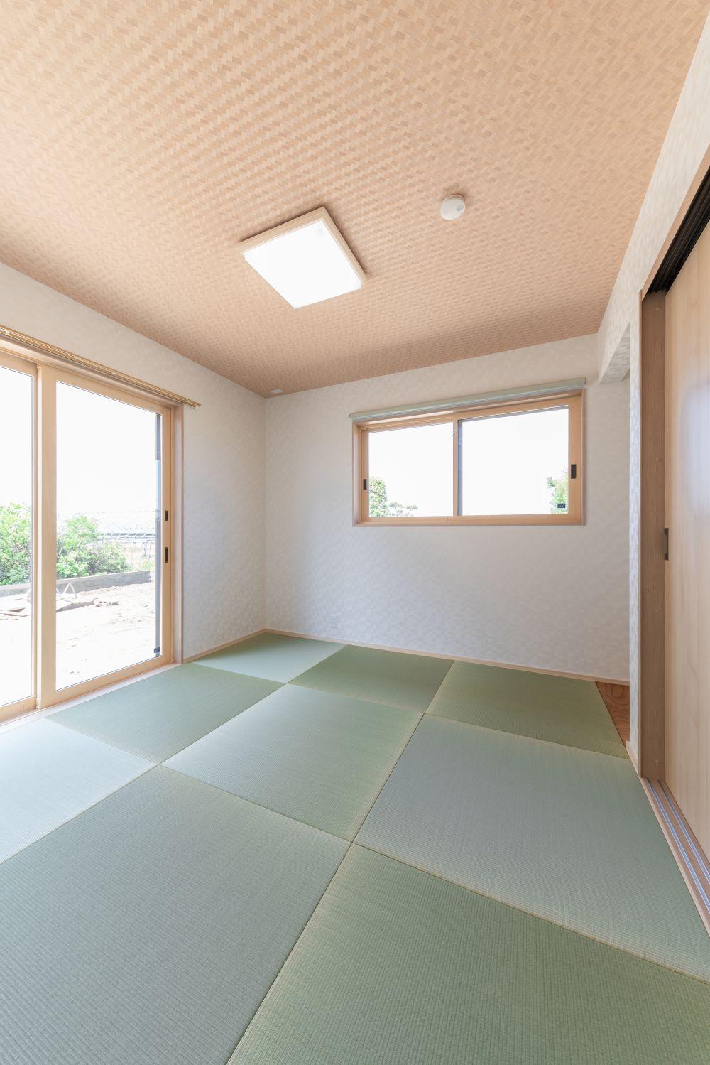 熊本県熊本市の新築住宅和室