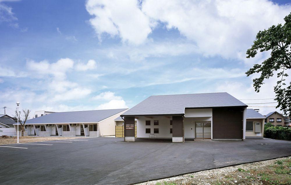 熊本県八代市の福祉施設「かづら」「かんね」外観