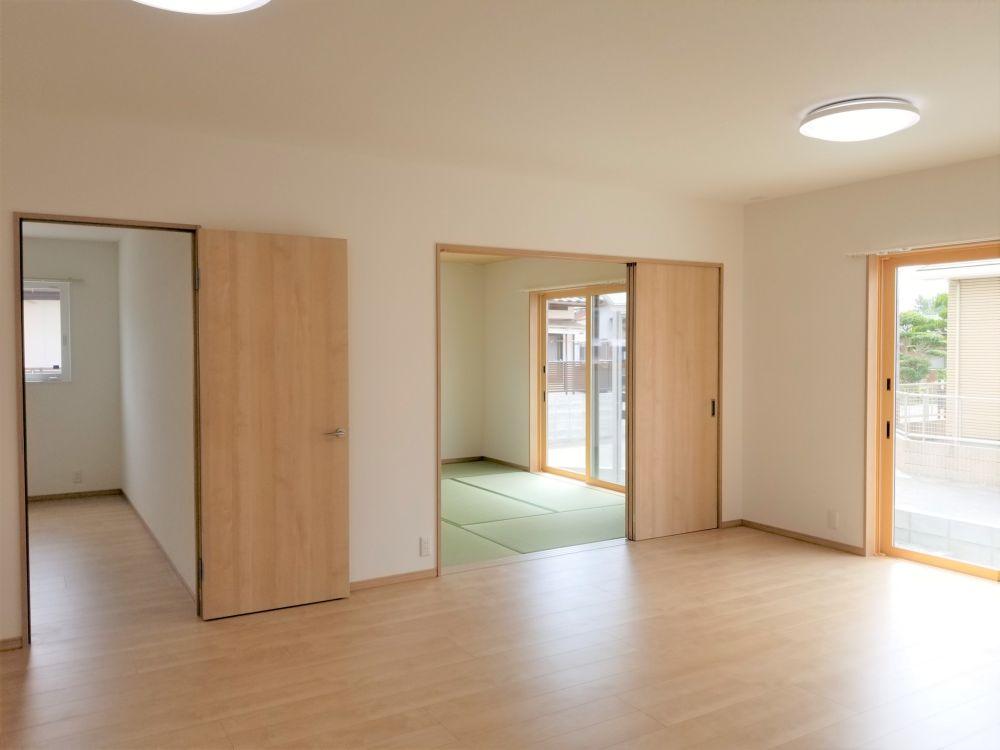 熊本県八代市の新築平屋住宅リビング