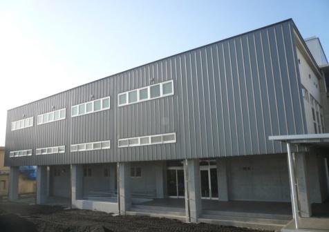 第七中学校体育館改築工事