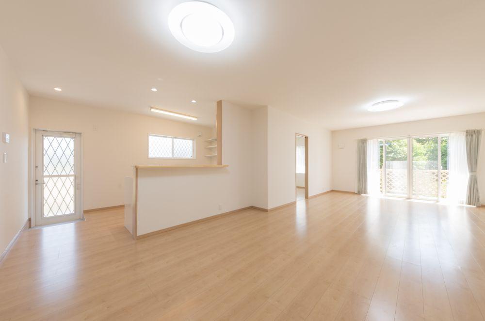 熊本県八代市新築住宅リビング