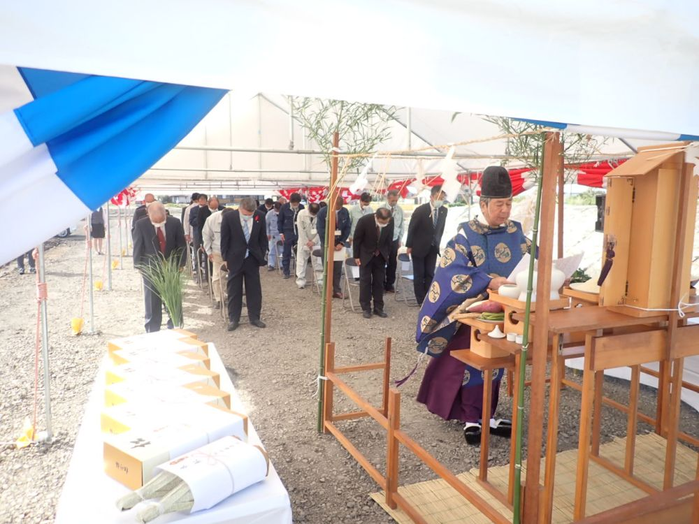 熊本八代藤永組土木安全祈願祭