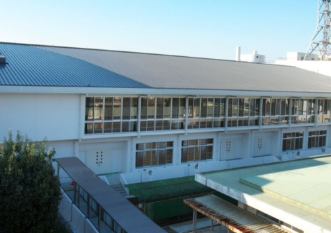 松橋中学校屋内運動場改築工事