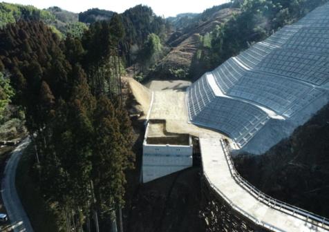 九州横断道(嘉島~山都)城ノ尾地区改良7期工事
